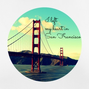 I left my heart in San Francisco - Frauen T-Shirt atmungsaktiv