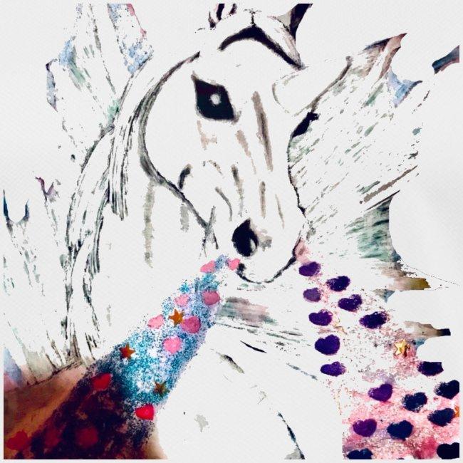 Unicorn met hartjes