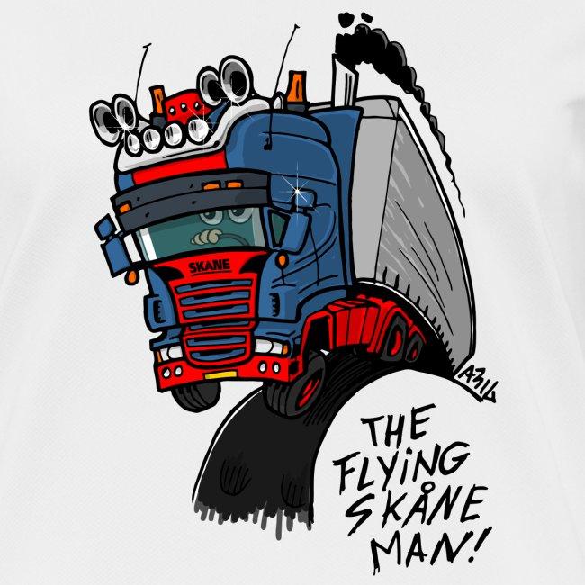 The flying skane man