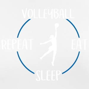 Pallavolo, Eat, Sleep, Repeat - Maglietta da donna traspirante