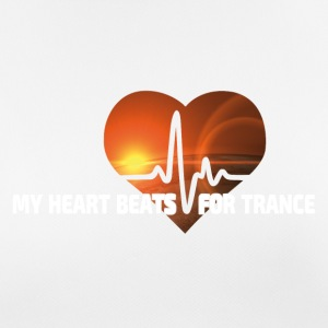 My Heart beats for Trance - Women's Breathable T-Shirt
