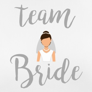 Team Bride Gray - vrouwen T-shirt ademend