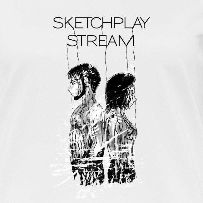 Death Stranding SketchPlayStream White