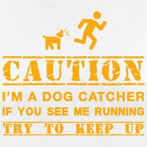 Warning: dog catcher - Women's Breathable T-Shirt