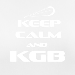 KITESURFING - KEEP CALM AND KGB - Frauen T-Shirt atmungsaktiv