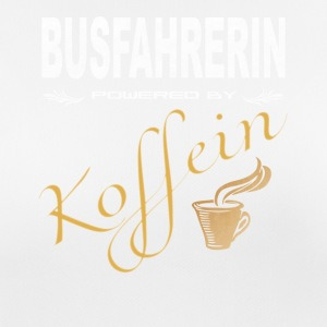Busfahrerin powered by Koffein Shirt - Frauen T-Shirt atmungsaktiv
