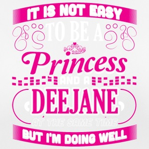 ITS NOT EASY PRINCESS AND DEEJANE - Women's Breathable T-Shirt