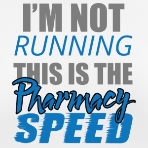 Pharmazie / Apotheker: I´m Not Running. This is - Frauen T-Shirt atmungsaktiv