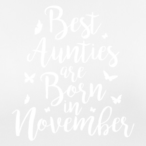 Best Aunties are born in November - Frauen T-Shirt atmungsaktiv
