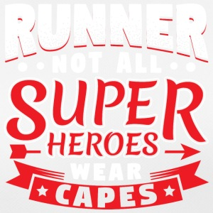 NOT ALL SUPERHEROES WEARCAPES - RUNNER - Women's Breathable T-Shirt