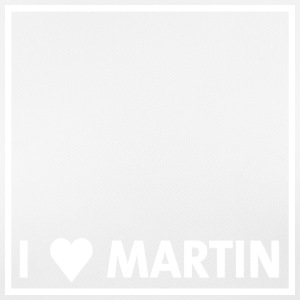 I heart Martin white - Women's Breathable T-Shirt