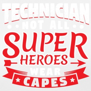 NOT ALL SUPERHEROES WEAR CAPS - TECHNICIAN - Women's Breathable T-Shirt