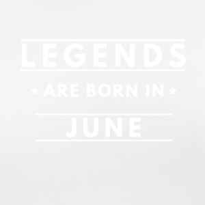 Legends are born in June - Women's Breathable T-Shirt