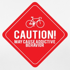 Vélo: Attention! Peut provoquer un comportement addictif. - T-shirt respirant Femme