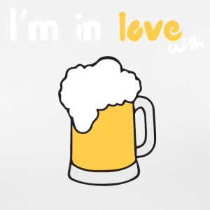 I m in love with beer - Frauen T-Shirt atmungsaktiv