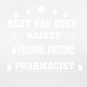 Best Dad Ever Raises Pharmacist - Women's Breathable T-Shirt