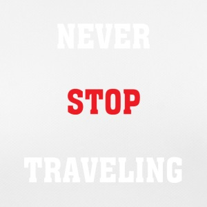 Never Stop Travelling - Women's Breathable T-Shirt