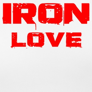 Iron love red - Women's Breathable T-Shirt