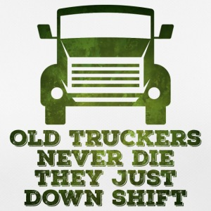 Trucker / Truck Driver: Old Truckers Never Die. They - Women's Breathable T-Shirt