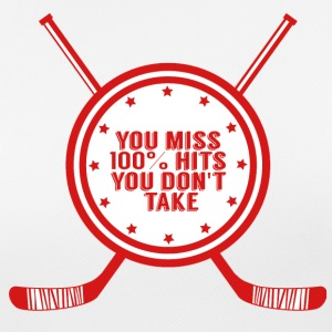 Hockey: You miss 100% hits you don't take - Women's Breathable T-Shirt