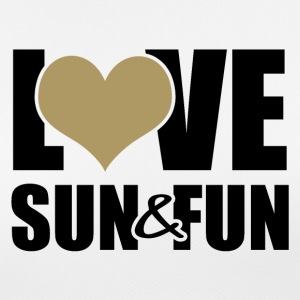 Love, Sun & Fun - Andningsaktiv T-shirt dam