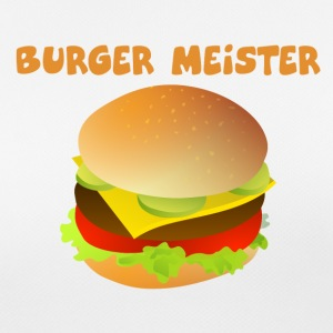 Burger-Meister Motiv Funny shirt for fast food - Women's Breathable T-Shirt