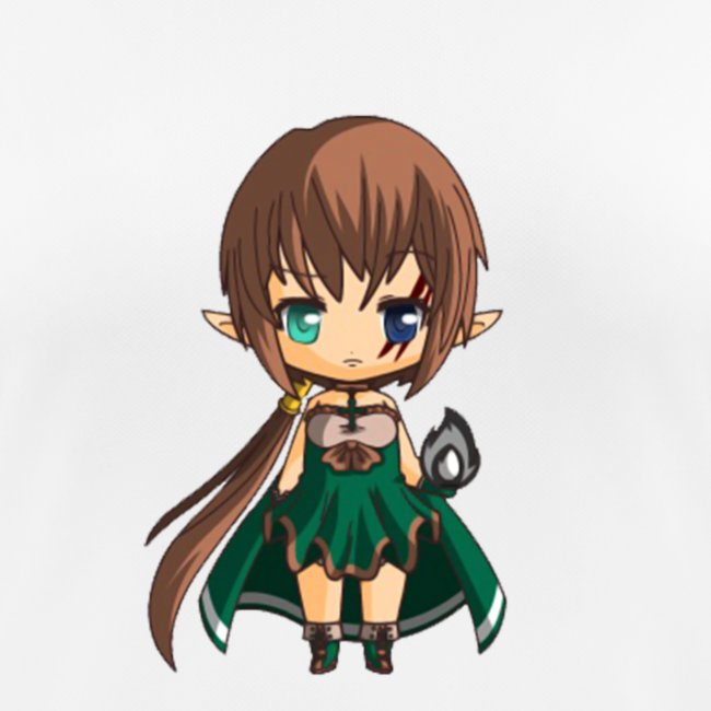 Chibi Gabrielle JDR by Calyss