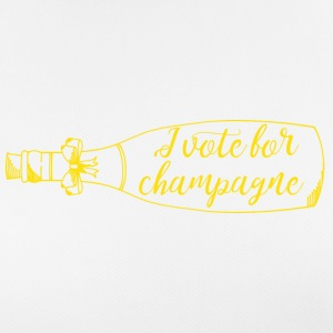 New Years Eve: I vote for champagne - Women's Breathable T-Shirt