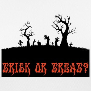 Halloween: Trick or Treat? - Pustende T-skjorte for kvinner
