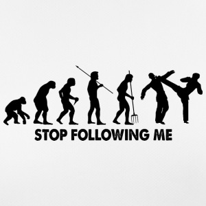 Evolution Stop Following Me - Frauen T-Shirt atmungsaktiv