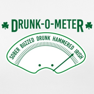 Ireland / St. Patricks Day Drunk-O-Meter - Sober, - Pustende T-skjorte for kvinner