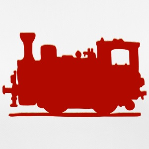 Vintage Steam Train - Andningsaktiv T-shirt dam