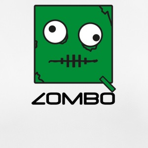 Zombie 'Zombo' Monster | Qbik Design Series - Pustende T-skjorte for kvinner