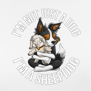 I'm a sheepdog - Women's Breathable T-Shirt