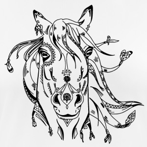 Decorated horse head - Women's Breathable T-Shirt