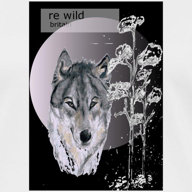 Re wild britain tee shirt