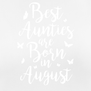Best Aunties are born in August - Women's Breathable T-Shirt