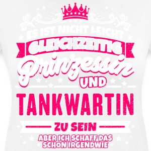 Princess and Tankwartin - Women's Breathable T-Shirt