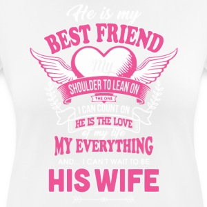 He is my best friend shirt - Women's Breathable T-Shirt