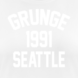 Grunge 1991 Seattle - Camiseta mujer transpirable