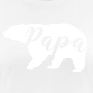 papa ours - T-shirt respirant Femme