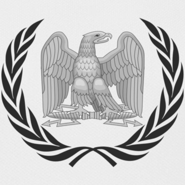 Aigle et laurier impériaux