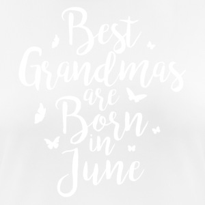 Best Grandmas are born in June - Frauen T-Shirt atmungsaktiv