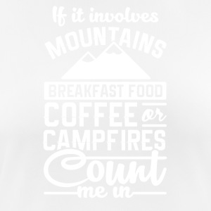 Mountains and camping - Women's Breathable T-Shirt
