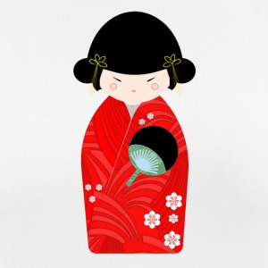 Kokeshi doll - Women's Breathable T-Shirt