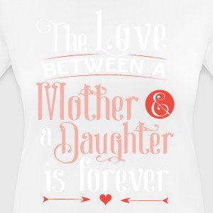 Mother and daughter love - Women's Breathable T-Shirt