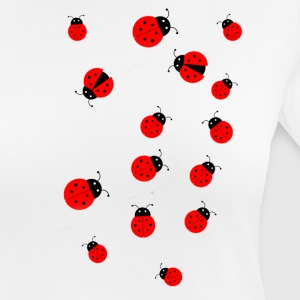 Lucky ladybugs - Women's Breathable T-Shirt