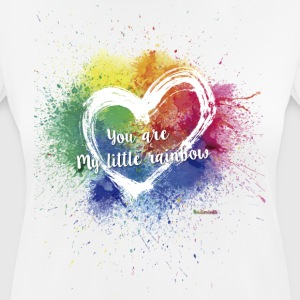 Little Rainbow T - Andningsaktiv T-shirt dam