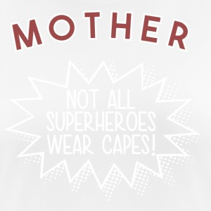Superhero MOTHER - Women's Breathable T-Shirt
