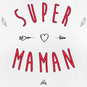 Super mom - Frauen T-Shirt atmungsaktiv